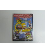 New PS2 Playstation 2 The Simpsons HIT & RUN Greatest Hits Brand New SEALED RARE - $99.50