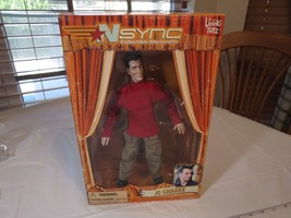 N Sync Collectible Marionette Figure JC Chasez living toyz doll 2000 RAR... - $28.50
