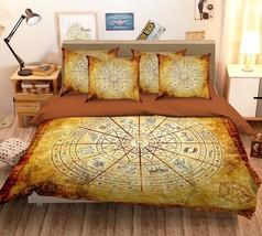 3D Astrolabe 26 Bed Pillowcases Quilt Duvet Single Queen King US Summer - $102.84+
