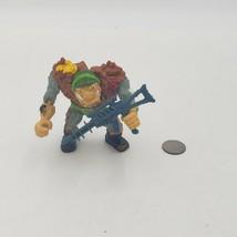1989 Vintage vtg General Traag w/ gun TMNT Action Figure Playmates Toys - $5.72
