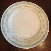 Set of 8 Roseville Bread & Butter Plates- Translucent Fine China- Japan- 4135 - $14.84