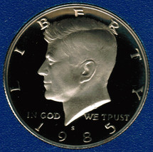 1985 S Proof Kennedy Half Dollar CP2024 - $4.75