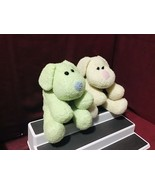 Best Made Bean Bag Filled Soft Green White Body Blue Pink Nose Plush Toy... - $99.00