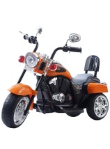 6V Battery Powered 3 Wheel Ride On Electric Ride On Orange Kids Motorcyc... - $425.69