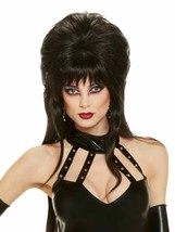 Rubies Elvira Mistress Of The Dark Peluca Halloween Adulto Accesorio Dis... - $20.54 CAD