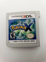 Nintendo 3DS Pokemon X Game Cart Only Rating Everyone - $17.81