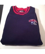 PRO PLAYER NEW YORK GIANTS FOOTBALL SWEATSHIRT SZ XXL MEN'S BLUE RED BIG... - $27.44