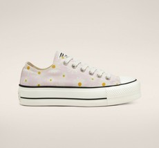 Converse Chuck Taylor All Star Camp Daisies Platform, 568934C Multi Sizes Pink/W - $89.95