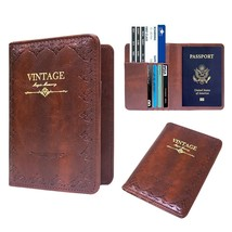 WALNEW Passport Holder Cover RFID Blocking Case Travelling Passport Card... - $17.17