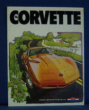 1974 Chevrolet Corvette Only Sales Brochure - Original New Old Stock - $10.00