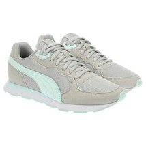 Puma Women Running Shoes Retro Runner Size US 6.5 Grey Mint - $29.94