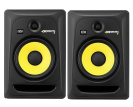 "PAIR KRK Rokit 8 G3 Active Studio Monitors Powered Speakers Recording 8""... - $499.99"
