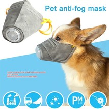 Pet Muzzle Protective Mouth Cover Soft Anti Dust Mask Dogs Outdoor Supplies - $17.79+
