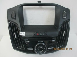 2012-14 Ford Focus Sony Radio Control Panel DM51-18835-AAW - $123.70