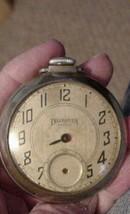 Vintage Ingraham Biltmore Pocket Watch for Parts or repair - $29.95
