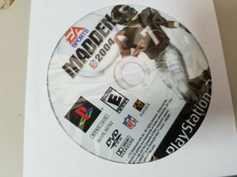 Madden NFL 2004 - PS2 PlayStation 2 game Disc Only 04 EA Sports Football - $4.46