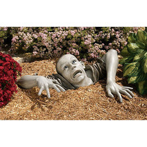 Walking Dead Escaping the Tomb Flesh Hungry Macabre Corpse Zombie Garden... - $183.15