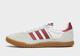 Adidas Originali Interno Super Scarpe da Ginnastica pelle Bianco/Rosso - $157.45