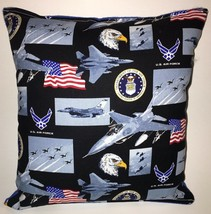 Air Force Pillow United States Air-Force Pillow Patriot Pillow HANDMADE ... - $9.97