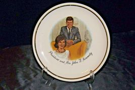 President and Mrs. John F. Kennedy AA20-CP2314 Vintage Commemorative Plate image 4