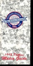 PHILADELPHIA PHILLIES MEDIA GUIDE 1995-25TH EX - $18.62