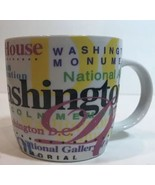 Jay Joshua NY Ceramic Coffee Mug Washington DC White House Smithsonian Cup - $19.79