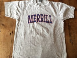 Merrill College Vintage T-shirt Made In USA Large Rare - $11.39