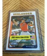 2005 Topps Justin Verlander Futures Game All-Star Rookie - $9.90