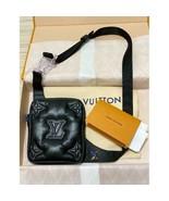 Louis Vuitton Asymmetrical Sling Bag black Virgil Abloh Cross Body 2054 ... - $2,663.10
