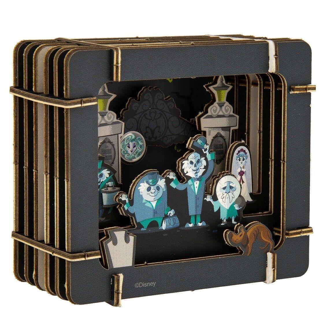 Disney Parks Haunted Mansion Paper 3D Diorama Set New Sealed image 4