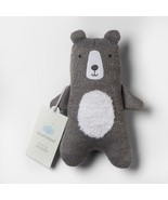 NEW Plush Knit Bear - Cloud Island  Gray - $13.61