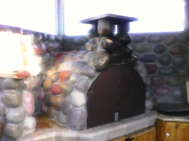 #OOR-05 River Rock Molds 12 Make 100s of Cement Stones For Walls For Pennies Ea. image 3