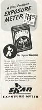 1947 Skan Exposure Meter PRINT AD Make Your Camera Take Better Sharper P... - $7.15