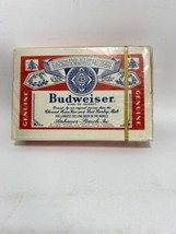 Vintage NOS Budweiser Playing Cards Deck Sealed Bridge Size - $8.99