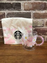 Starbucks Japan 2021 SAKURA 355ml Heat-resistant glass Mug cup - $79.20