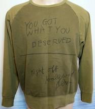 UNIQLO Jack PIERSON SPRZ NY Pop Art MoMA 2 Tone Sweatshirt Khaki Mens La... - $38.61