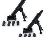 S weapons for lego brickarms minifigs army military set mortar launcher 2 pack kit thumb155 crop