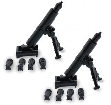 Custom Minifigures Military Army Guns Weapons Compatible w/ Lego Sets Mi... - $6.49