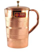 Handmade copper pitcher/ Jug for Drinking water by Karmakara - $25.24