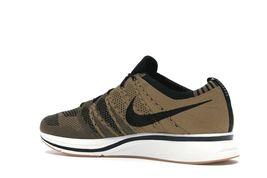 Nike Flyknit Trainer Golden Beige Black Gum Light Brown AH8396-203 Mens Shoes image 3