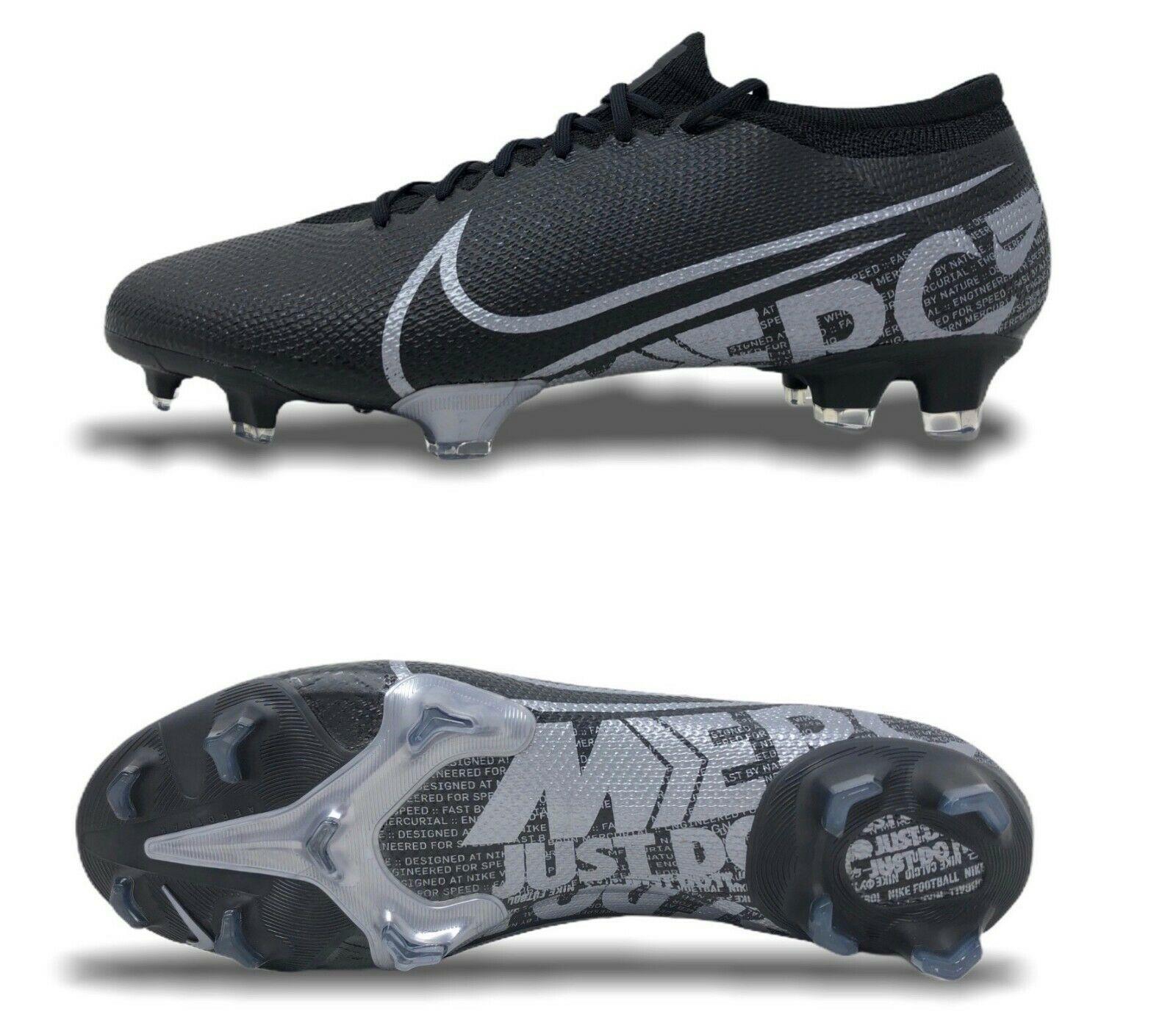 Nike Mercurial 360 Vapor 13 Pro FG Mens Soccer Cleats Size 11.5 Black AT7901-001 - $84.15