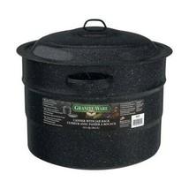 Granite Ware 21.5-Quart Canner with Jar Rack - $19.62