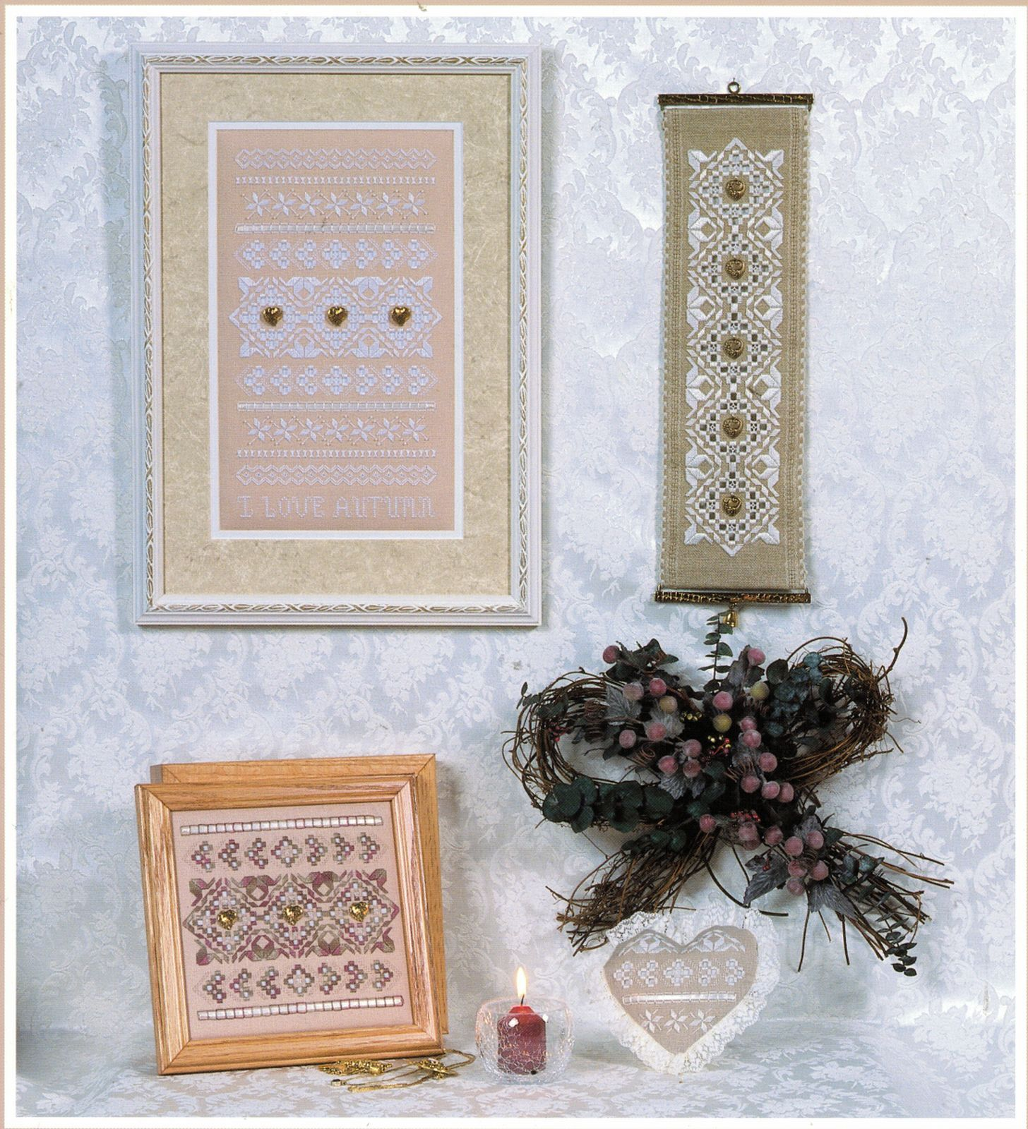 Primary image for I Love Autumn Hardanger Embroidery Seasonal Sampler Rosalyn Watnemo Book