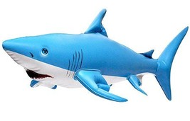 Inflatable Shark, Large- 24 Inches long, Blue and White - $10.56
