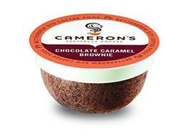 Cameron's Coffee Single Serve Coffee Capsules, Flavored, Chocolate Caram... - $15.69
