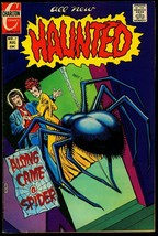 Haunted #7 1972- Charlton Comics Horror- Dtiko cover & art VF - $44.14
