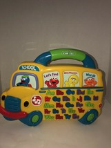USED Sesame Street Alphabet School Bus Sounds Phonics Learning SHIPSN24HRS - $22.42