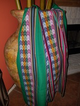 unique Textile pre-columbian style andes design - $32.00