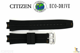 Citizen Eco-Drive BM6900-07E Original 23mm Black Rubber Watch Band CA0200-03E - $83.95