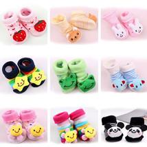 HOT Newborn Baby 7-9cm Anti-Slip Socks Slipper Shoes Boots 0-12 Month 7-... - $2.00